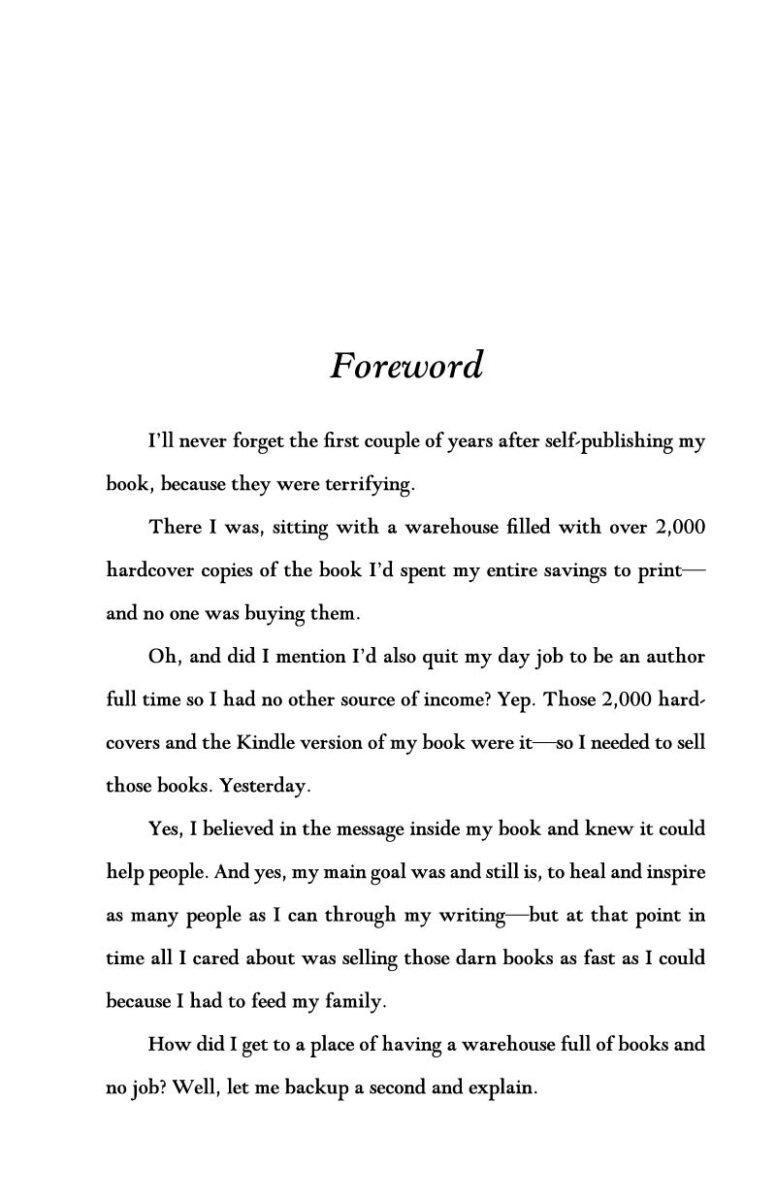 The Evergreen Author original typesetting