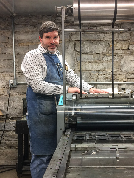 Paul Nylander letterpress printing Isolation