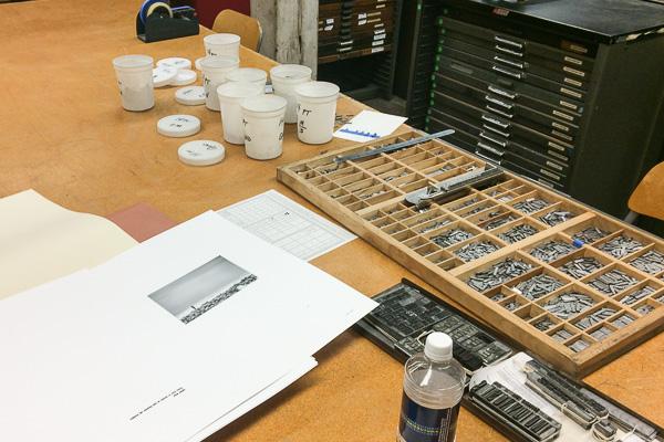 Isolation, typesetting