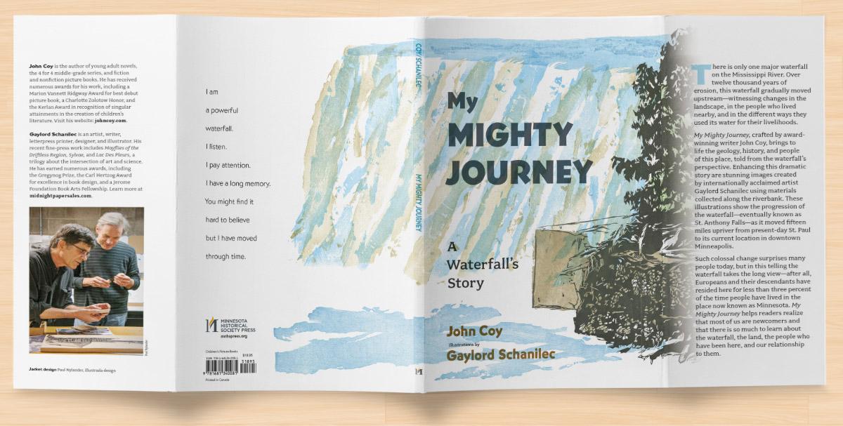 My Mighty Journey, Jacket spread