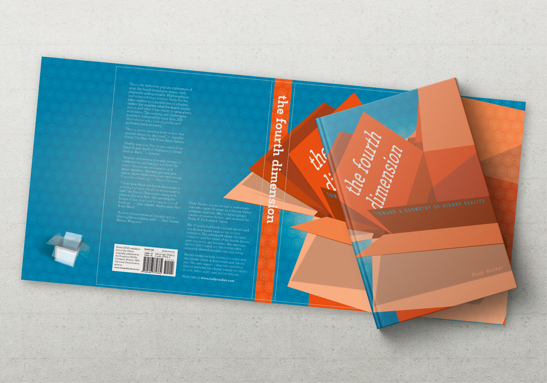 Cover and dust jacket for Fourth Dimension